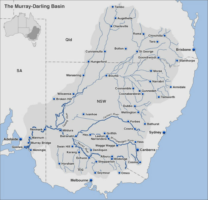 Basin Map from the ABC